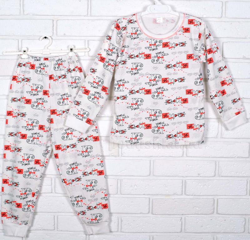 Пижама для девочки Татошка интерлок 01602 Кошечки