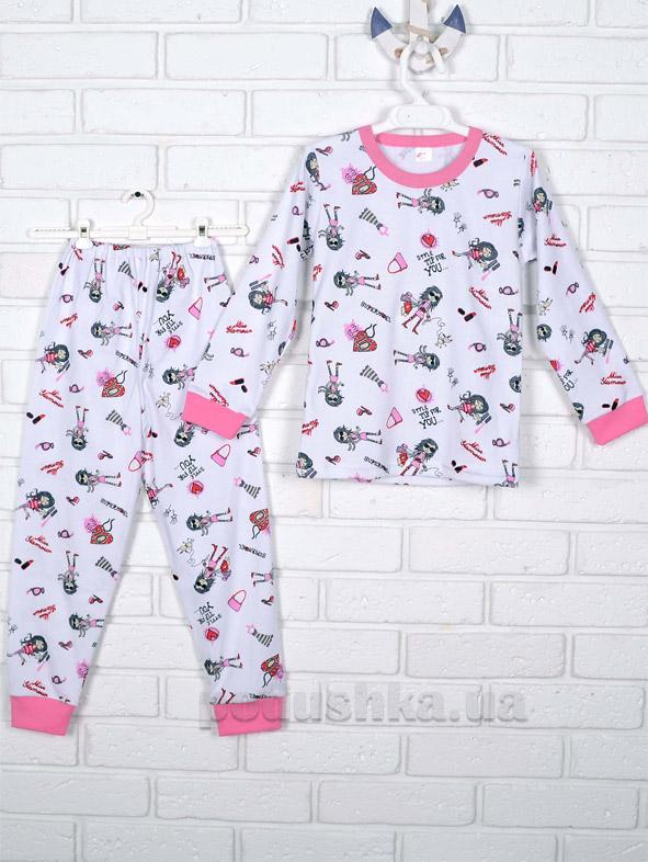 Пижама для девочки Татошка интерлок 01602 Гламур