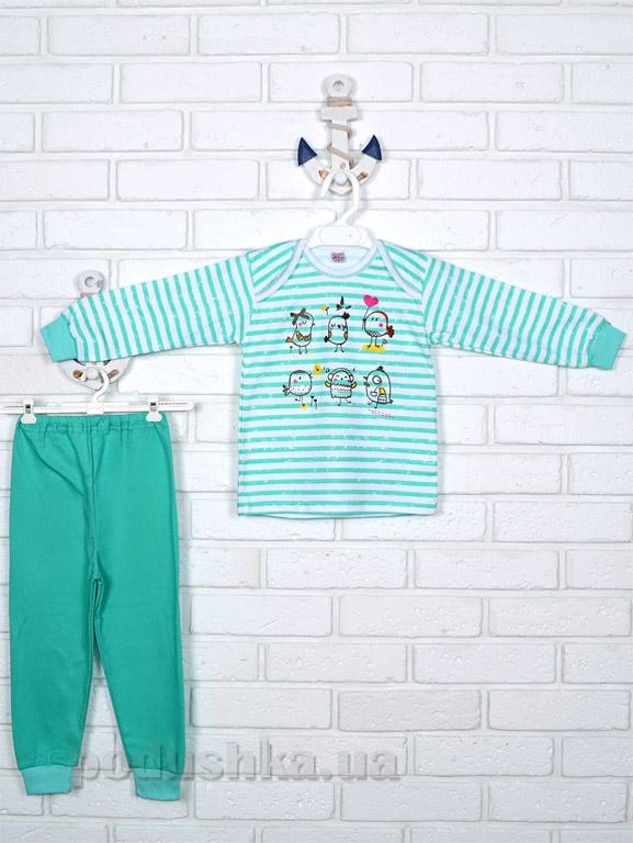 Пижама для девочки Татошка интерлок 016719 Птички