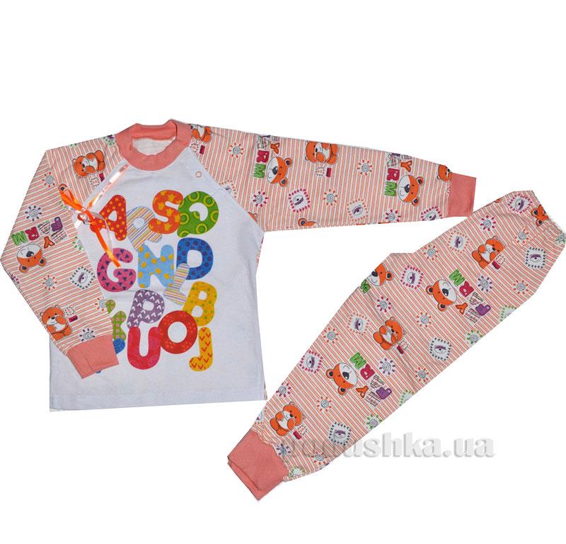 Пижама для девочки теплая Витуся 1002047