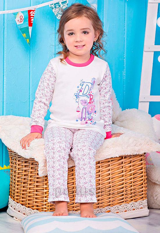 Пижама для девочки Цветочки Zironka 906-018