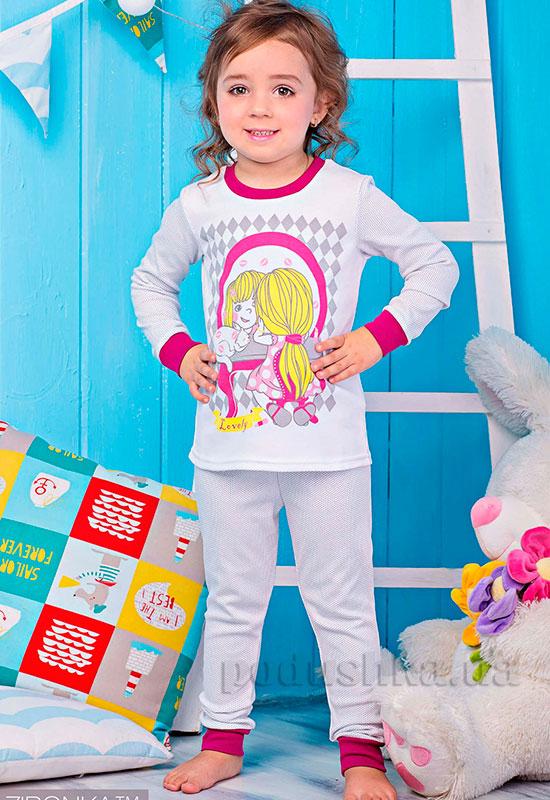 Пижама для девочки Зеркало Zironka 904-014