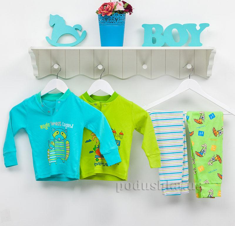 Пижама для мальчика Фламинго 246-222