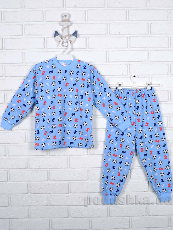 Пижама для мальчика Татошка футер 01202 Футбол