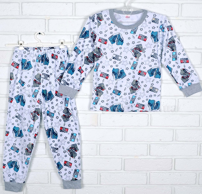 Пижама для мальчика Татошка интерлок 01602 Фото