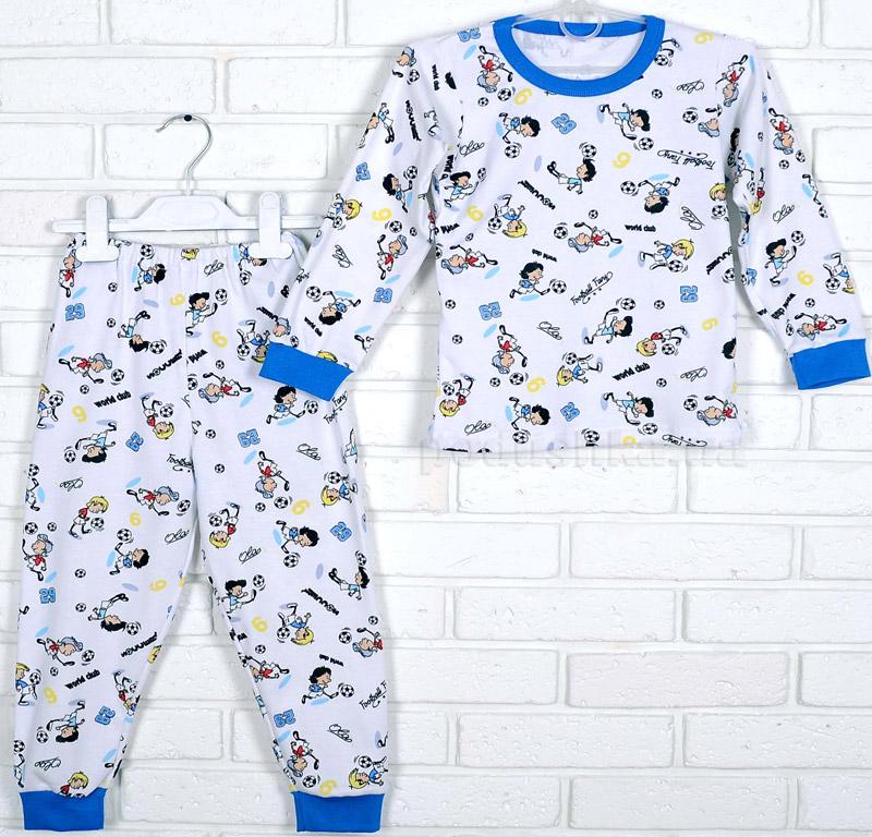 Пижама для мальчика Татошка интерлок 01602 Футбол