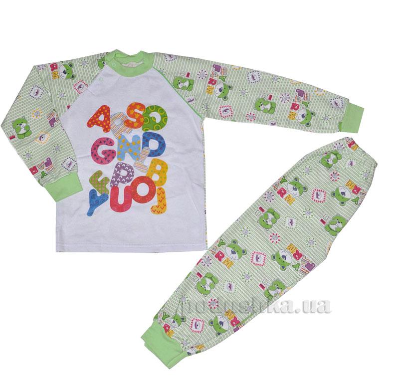 Пижама для мальчика теплая Витуся 1002027