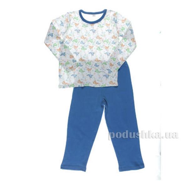Пижама для мальчиков Голубая ТМ Niso Baby ММТ2 3101