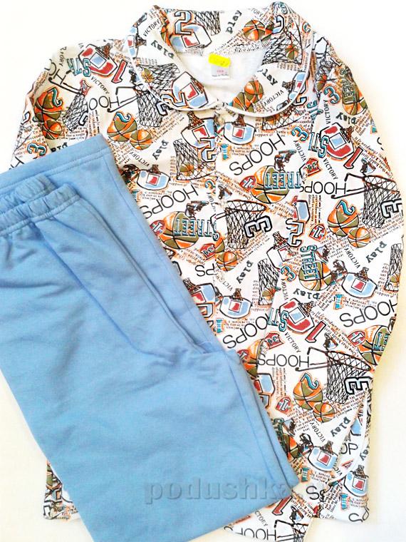 Пижама для мальчиков Синие Мячики ТМ Niso Baby 603Al