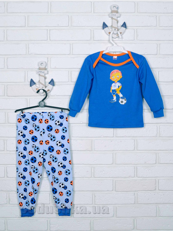 Пижама для мальчика Татошка интерлок 016719 Футбол