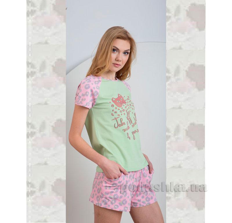 Пижама Ellen LNP 025/002 салатовая