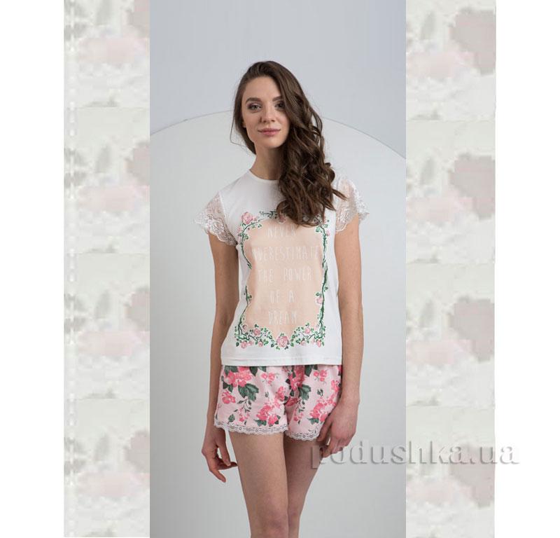 Пижама Ellen LNP 027/001 Цветы