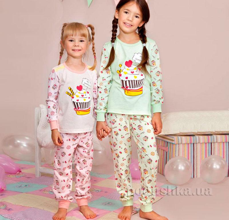 Детская пижама Ellen GNP 001/004 салатовая