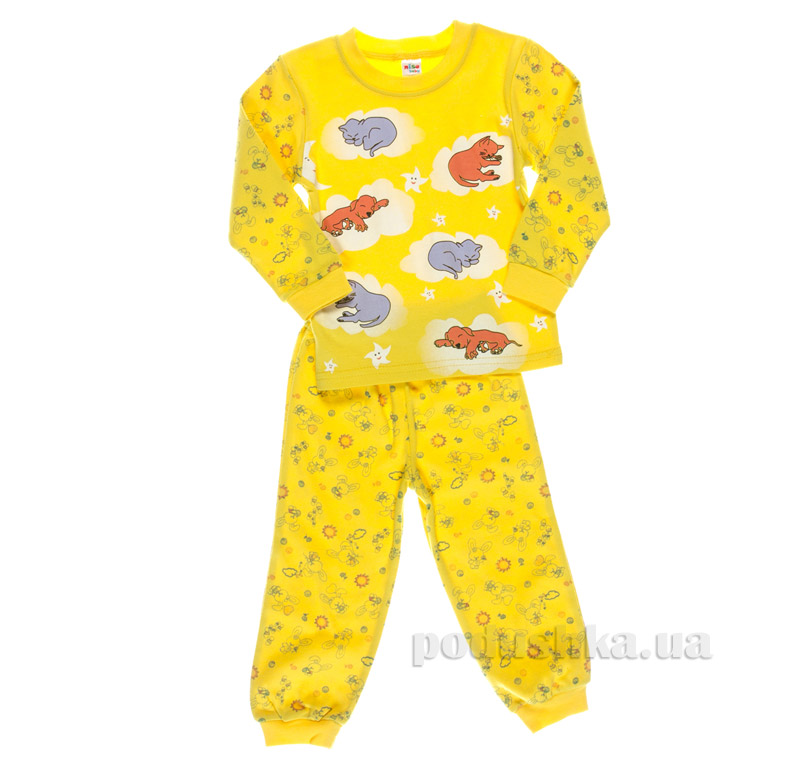Пижама Niso Baby 1232 желтая