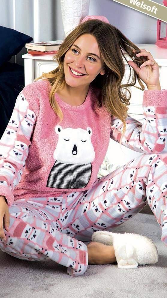 Новая коллекция уютных и теплых пижам для детей и взрослых ... d9b6254a49b00