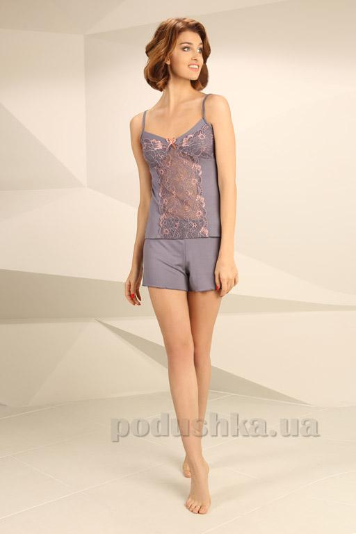 Пижама Violet delux П-М-31 серая M  Violet delux