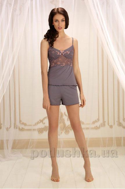 Пижама Violet delux П-М-32 серая