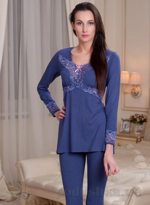 Пижама Violet delux П-М-40 джинс