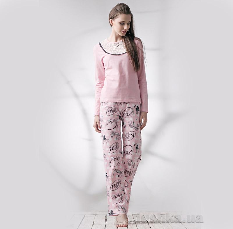Пижама женская Ellen LNP 039/001 ретро