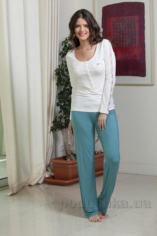 Пижама женская Hays 4138 бирюза