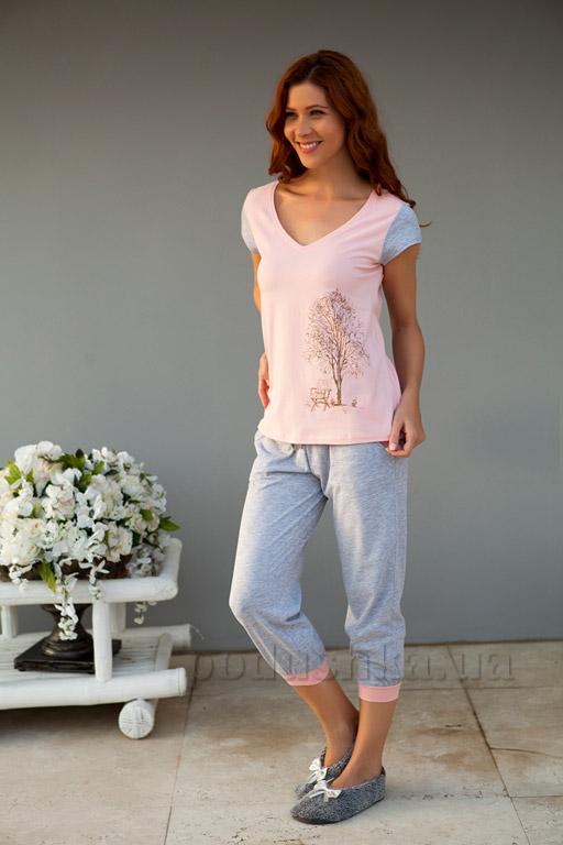 Пижама женская Hays 4160 розовая