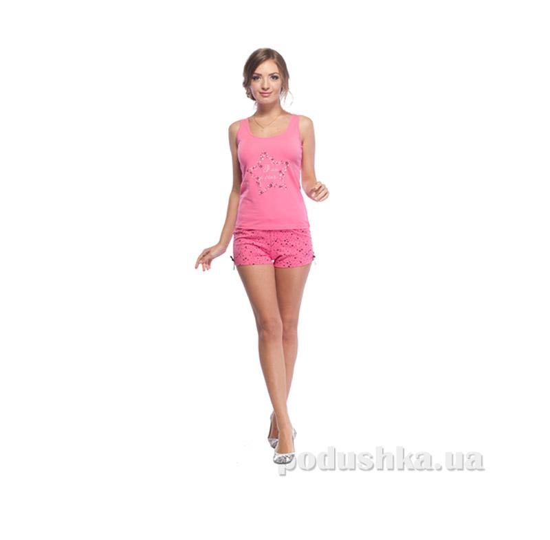 Пижама женская МТФ 01702ПВ розовая
