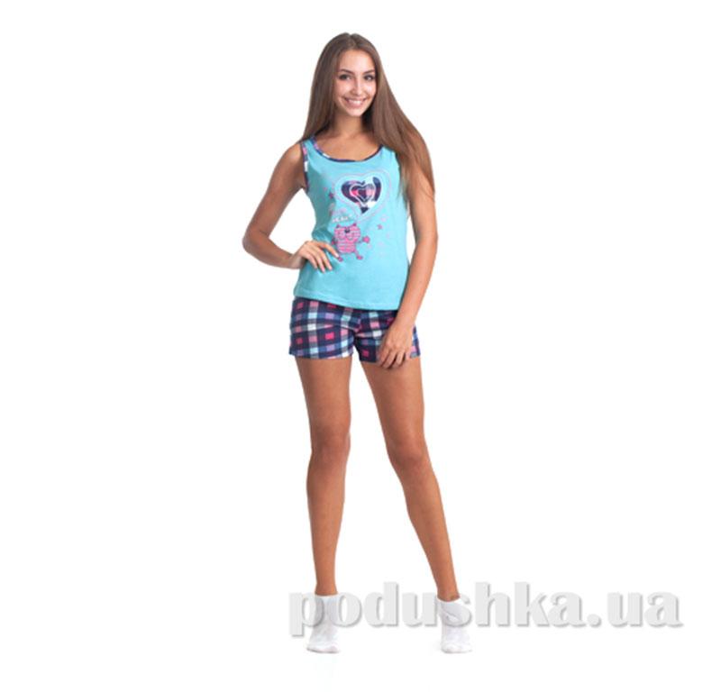 Пижама женская МТФ 0402В ментоловая