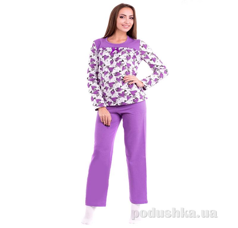 Пижама женская МТФ 3992 лиловая