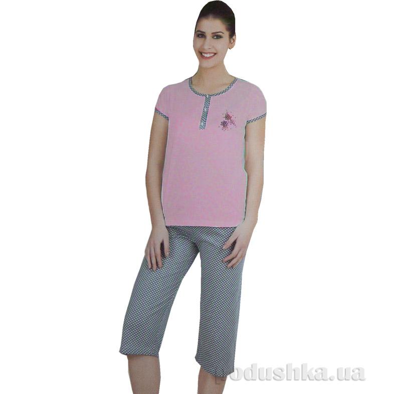 Пижама женская Sabrina 52527 розовая