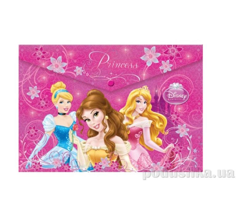 Пластиковая папка-конверт с застежкой Princess
