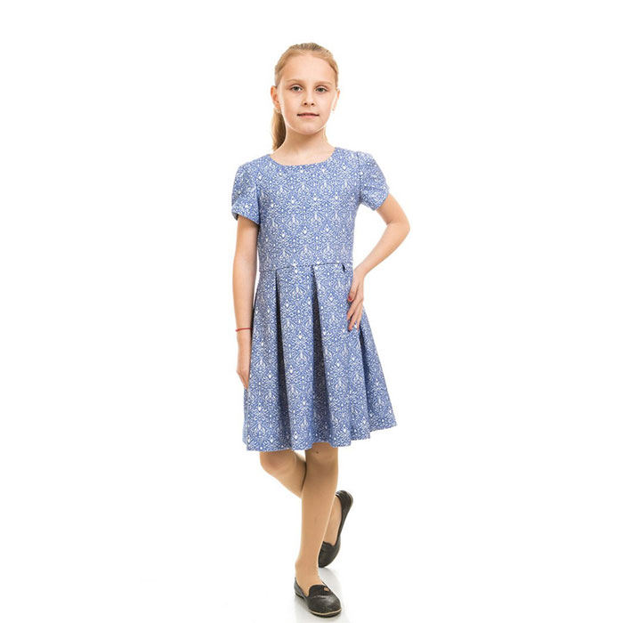 Платье Ажур Kids Couture 17-255 синее