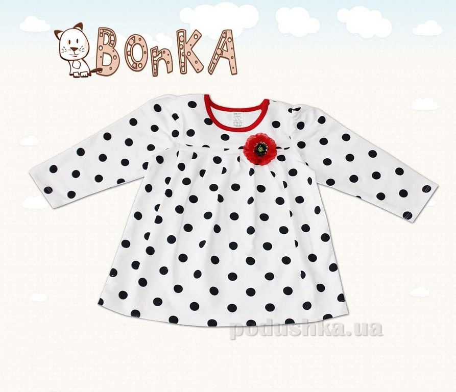 Платье детское Bonka ПЛ-105-21 в горошек