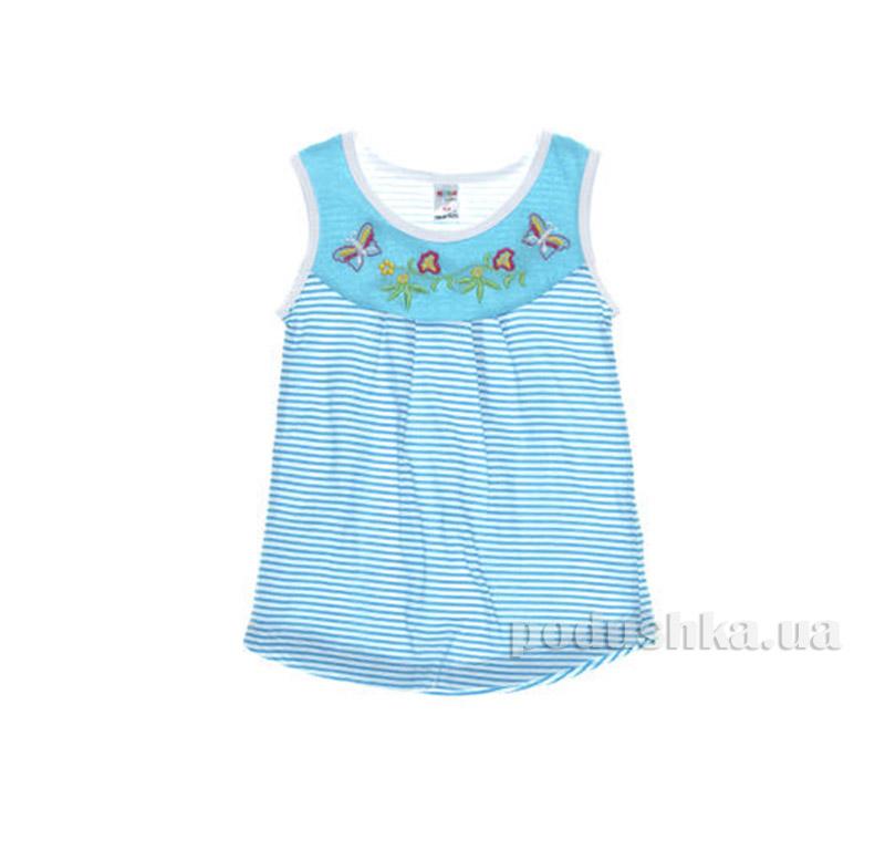 Платье детское Niso Baby 1015 голубое