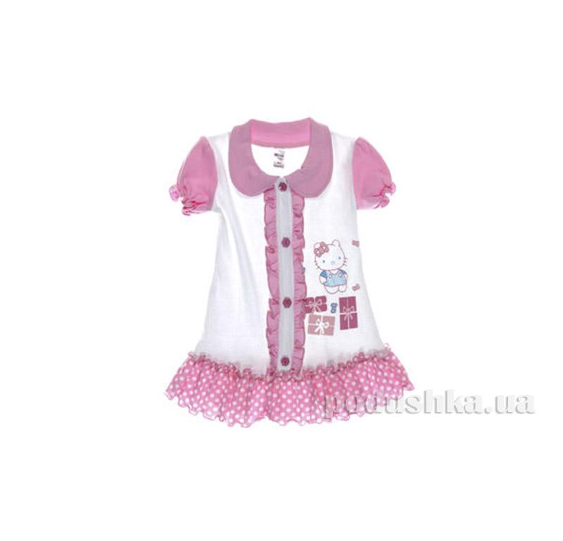 Платье детское Niso Baby 1018 розовое
