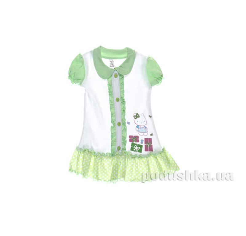 Платье детское Niso Baby 1018 зеленый