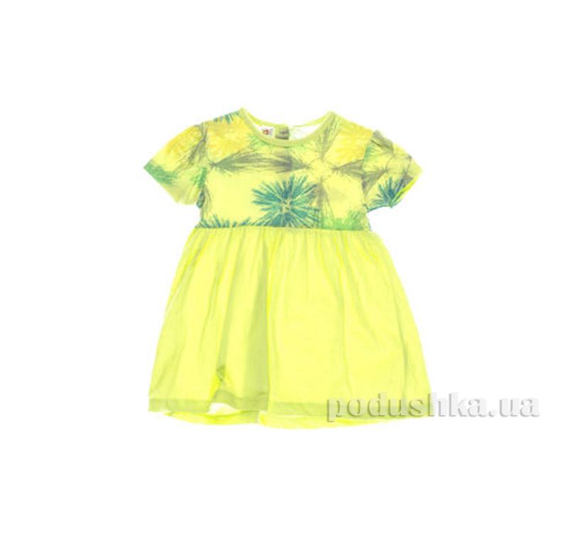 Платье детское Niso Baby 1211 зеленое