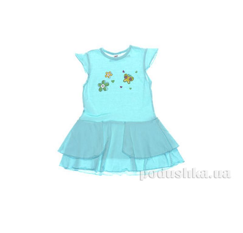 Платье детское Niso Baby 5054 голубое