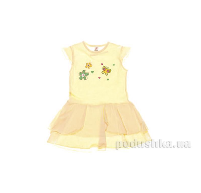 Платье детское Niso Baby 5054 желтое