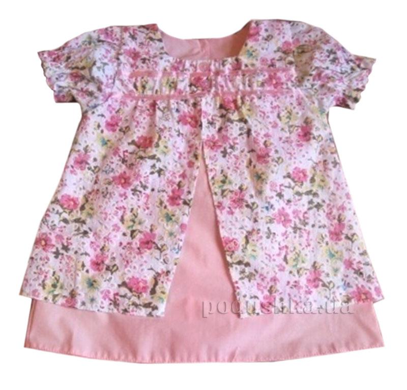 Платье для девочки Baby Life 17-34 поплин