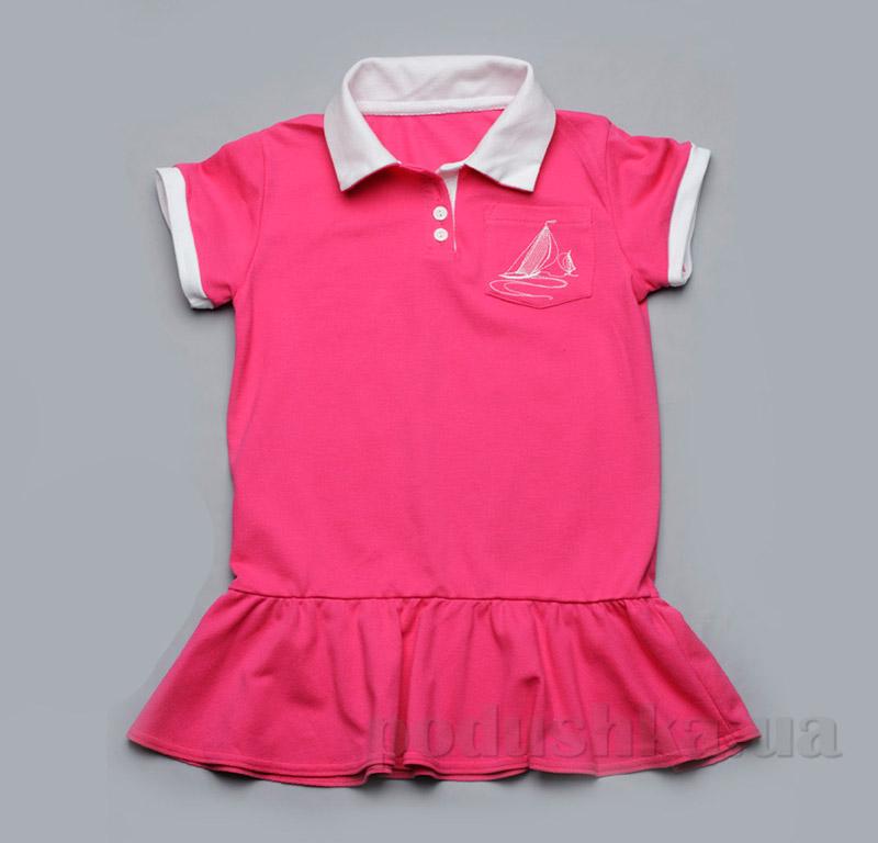 Платье для девочки Модный карапуз 03-00507 Малиновое