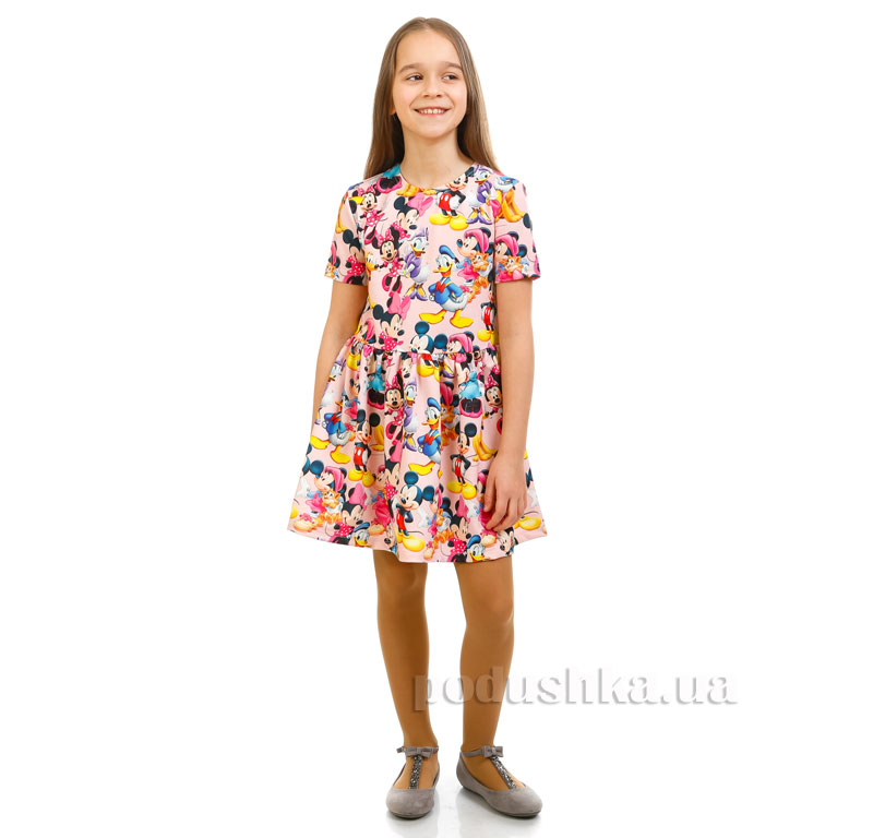 Платье Дональд Дак Kids Couture розовое