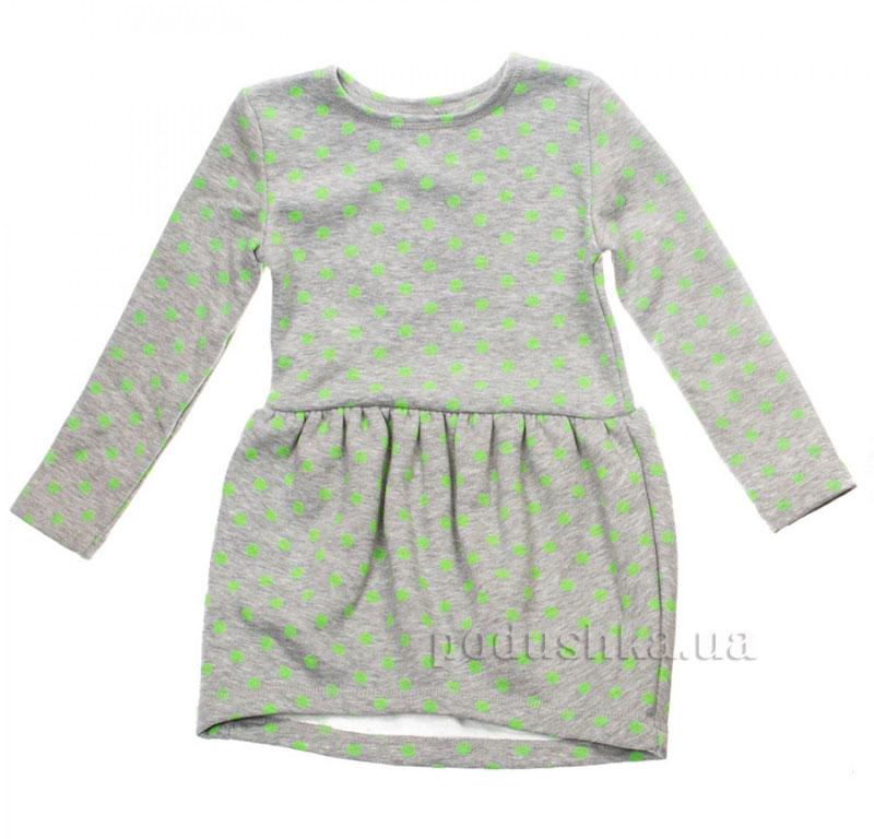 Платье Горох Couture 16-07 серое