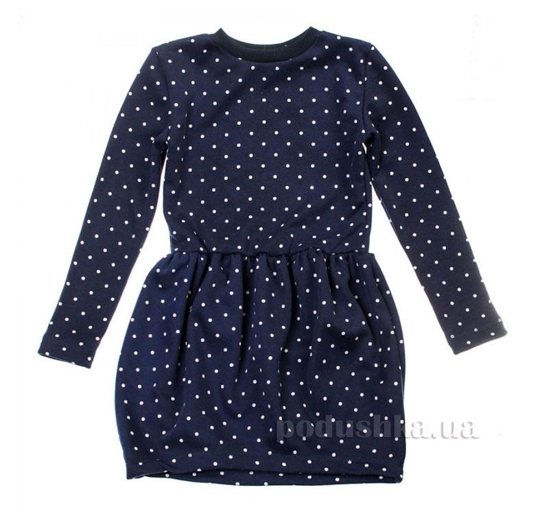 Платье Горох Kids Couture 16-07 синее