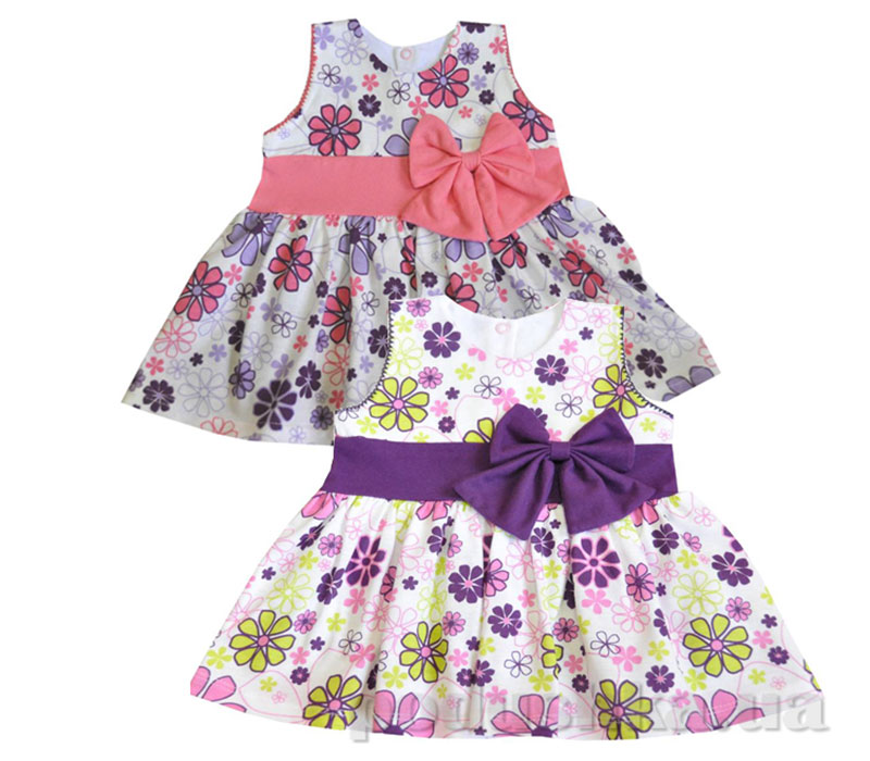 фасоны интересных детских платьев