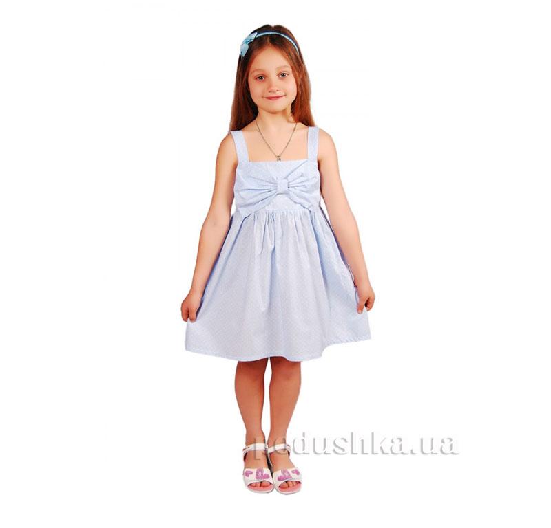 Платье Kids Couture 15-306 в голубой горох