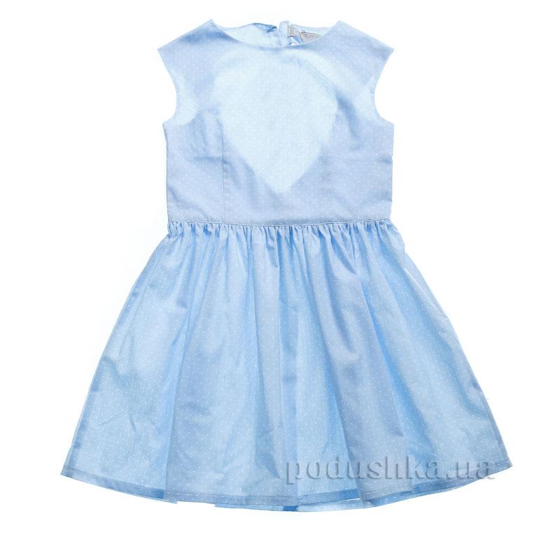 Платье Kids Couture 15-311 в голубой горох
