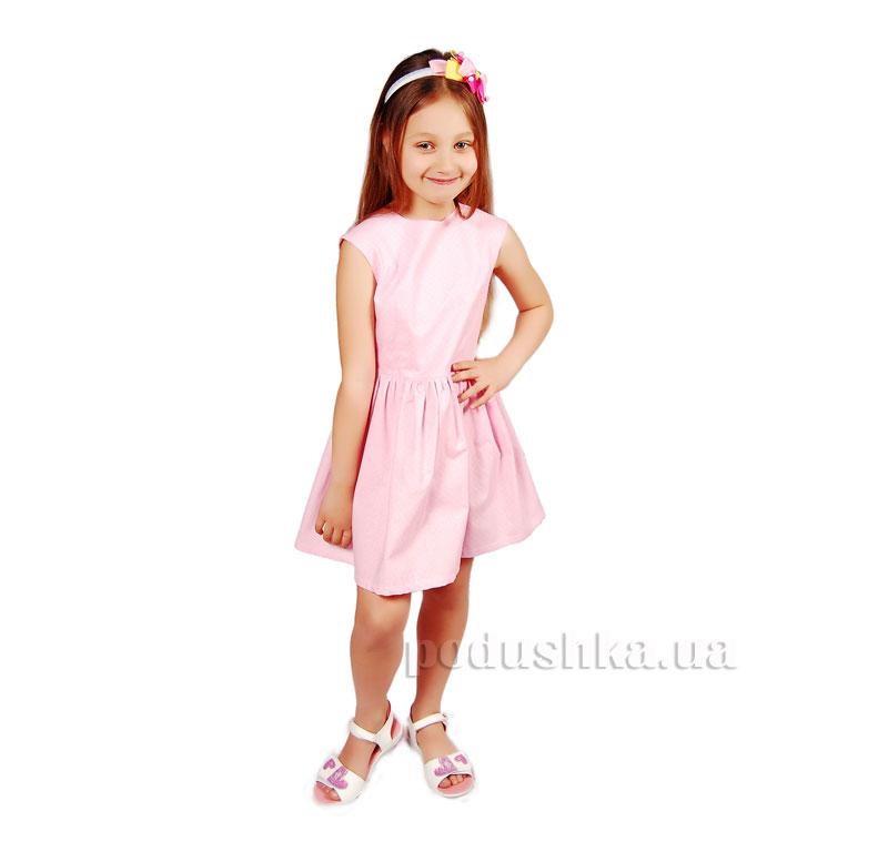 Платье Kids Couture 15-311 в розовый горох