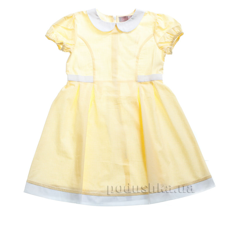 Платье Kids Couture 15-316 в желтую точку
