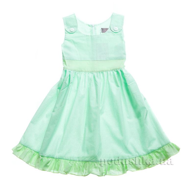 Платье Kids Couture 15-324 в салатовую точку