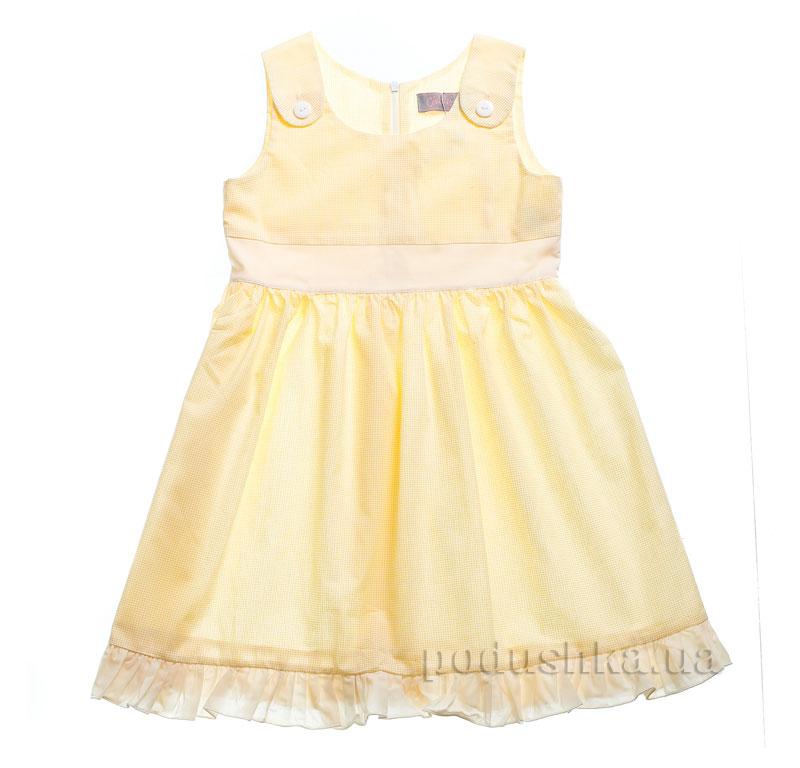 Платье Kids Couture 15-324 в желтую точку